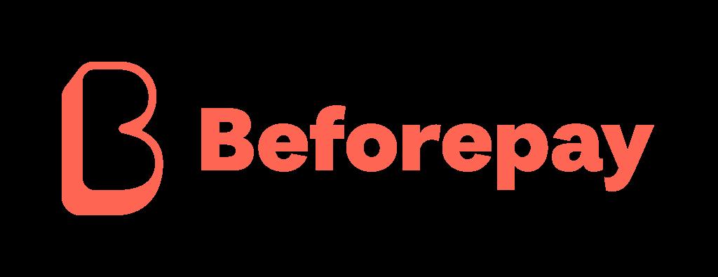 Beforepay horizontal icon in orange