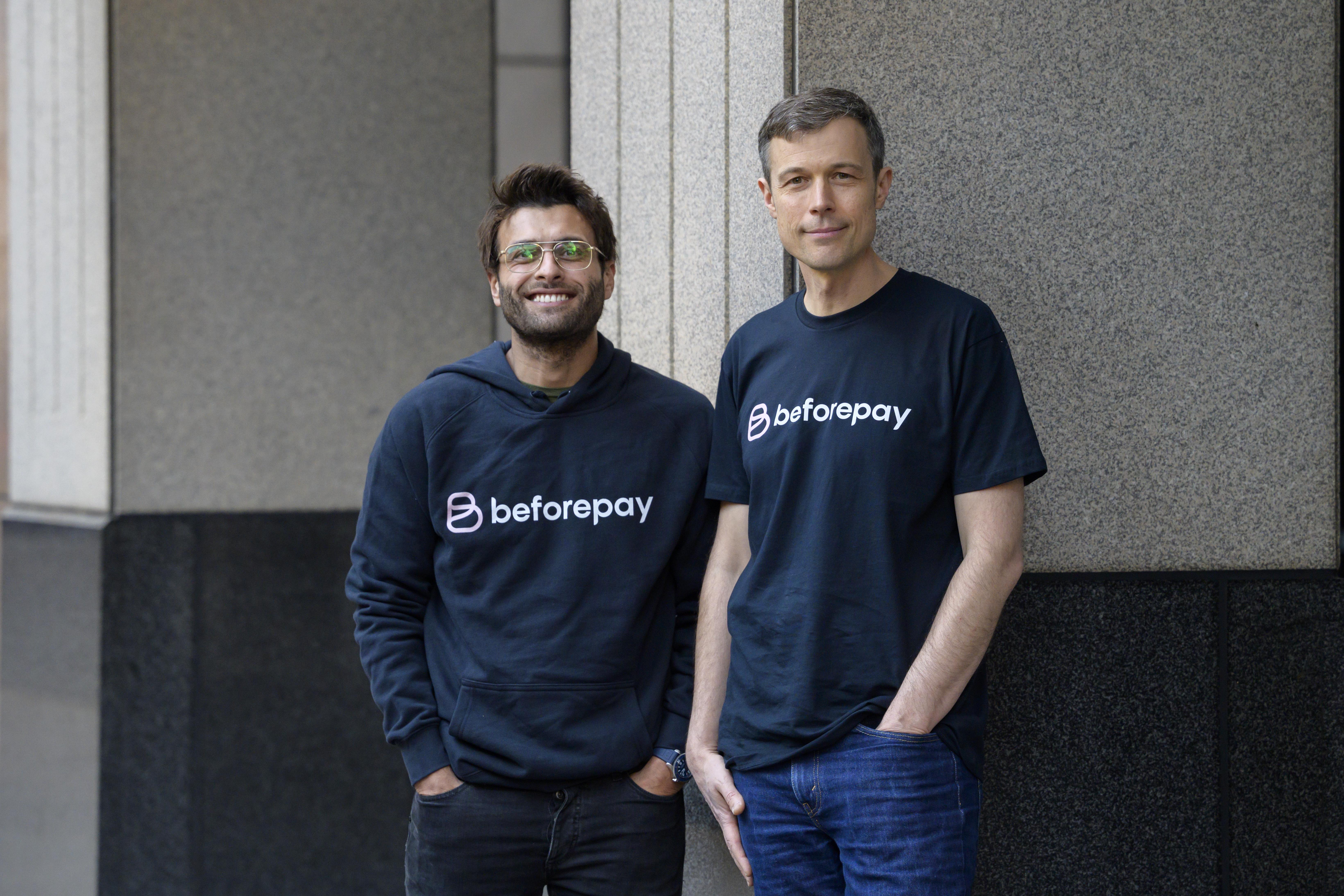 Tarek and Jamie at Beforepay